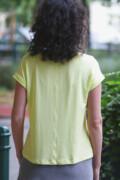 póló - neonsárga