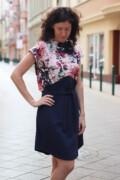 navyblue dream dress