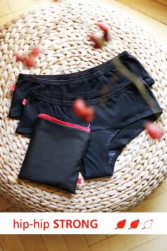 hip-hip strong menstruációs bugyi (2db-os csomag)