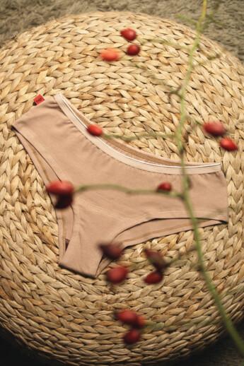 hip-hip easy menstruációs bugyi a könnyebb napokra (1db) - beige