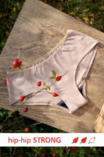 hip-hip strong menstruációs bugyi (1db) - beige