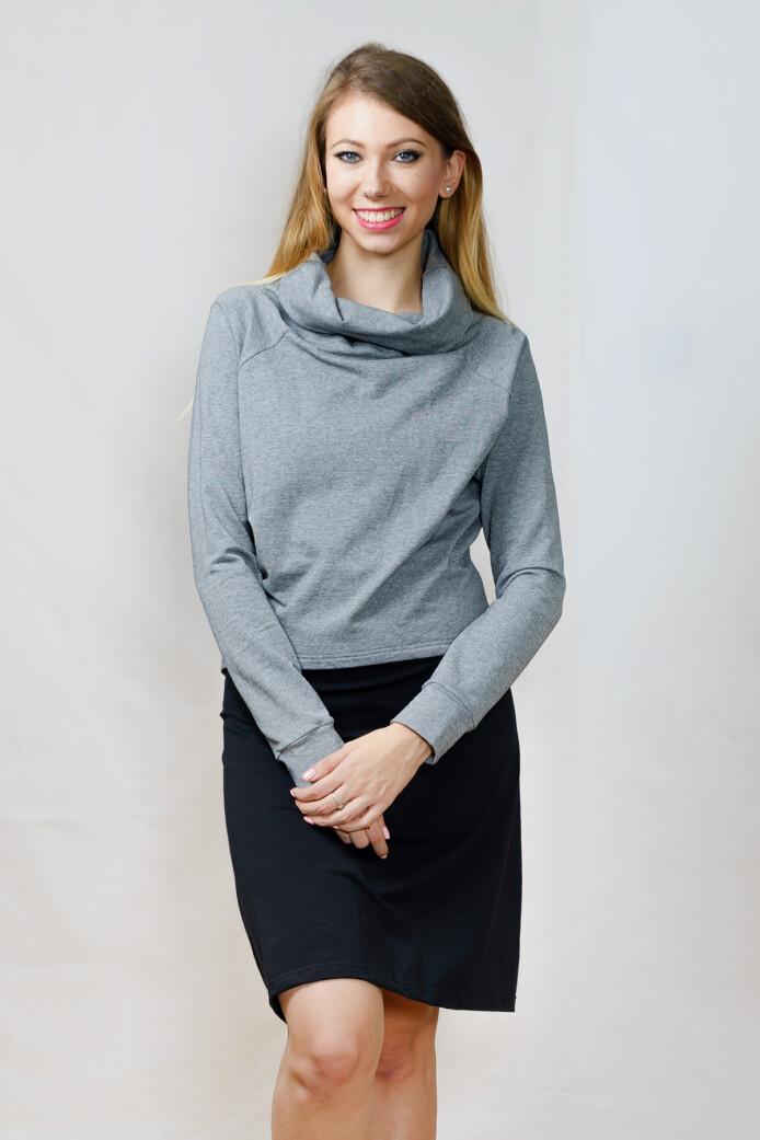pulóver - szürke